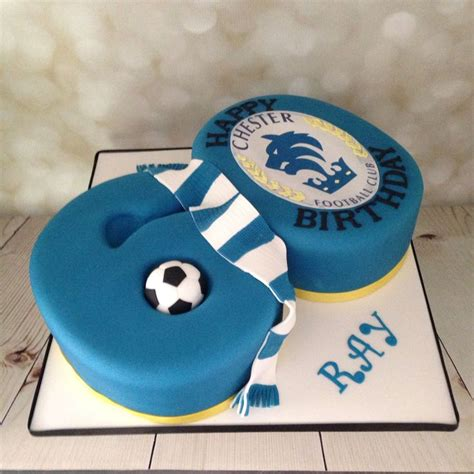 everton football  birthday cake  dragoons
