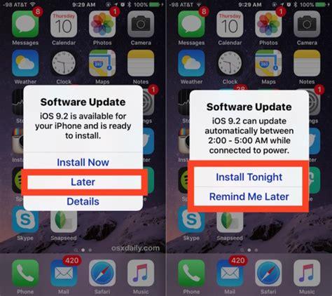 undo iphone update remove system update notification iphone 5 sunriserevizion