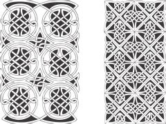 vector graphic celtic tribal knot spiral