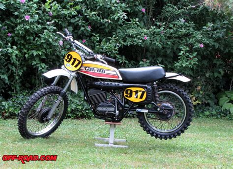 can am motocross bikes can am dirt bike build part 2 off road com