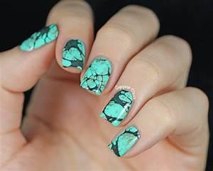 Copycat Claws: Turquoise Stone Nail Art & China Glaze Too ...