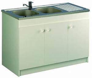 meubles bas de cuisine aquarine achat vente de meubles With meuble bas de cuisine 120 cm 6 meubles sous evier comparez les prix pour professionnels