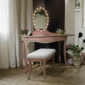 Miroir Pour Coiffeuse : la table coiffeuse est toujours la mode ~ Teatrodelosmanantiales.com Idées de Décoration