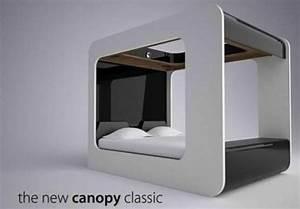 Lit Du Futur : le lit baldaquin du futur ~ Melissatoandfro.com Idées de Décoration