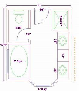 Master Bathroom Floor Plans Modern | This For All