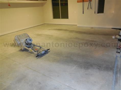 garage floor paint preparation preparing concrete floor for epoxy paint floor matttroy