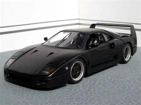 slammed ferrari f40 ferrari f40 black burago diecast model car 1 18 buy sell