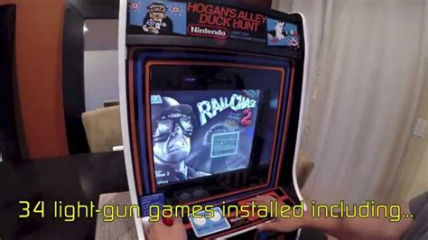 Duck Hunt Hogans Alley Light Gun Mini Arcade Machine