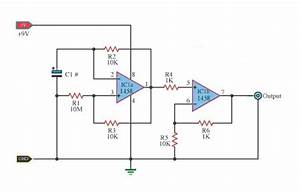 Build A Pulse Generator Using Basic Operational Amplifier