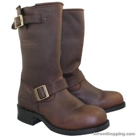 mens brown leather motorcycle boots arrow mens brown advanced leather motorcycle boots 154