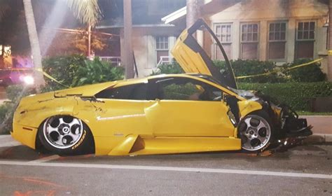 lamborghini suv crash  delray  killed