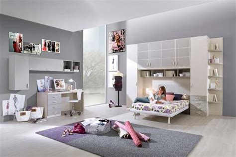 modern teenage girl bedroom  colorfull decoration