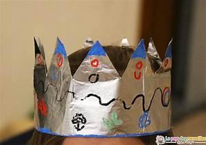 Couronne En Papier à Imprimer : couronne des rois en papier aluminium diy piphanie ~ Melissatoandfro.com Idées de Décoration