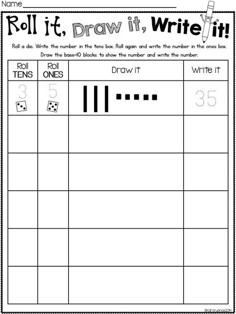 Place Value Math Worksheets Printable