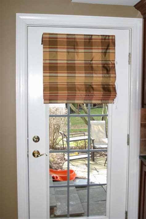shades for doors fabric shades for doors window treatments design