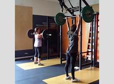 Push Press Bridgetown CrossFit and Barbell Club