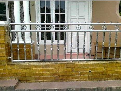 Pagar besi geser dengan motif khas. Gambar-gambar Desain Pagar Rumah Minimalis (Besi, Stainless, BRC) | Desain, Minimalis, Rumah ...