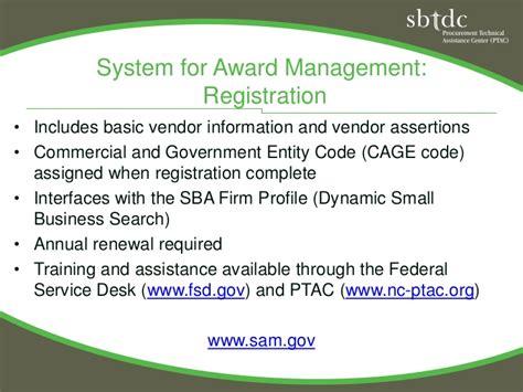 sam gov help desk doing business with the govt ptac