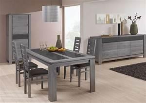 Meuble de salle a manger table de cuisine blanche for Meuble salle À manger avec chaise de salon grise