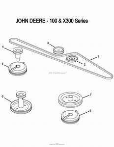 Wiring Diagram  7 John Deere X300r Belt Diagram