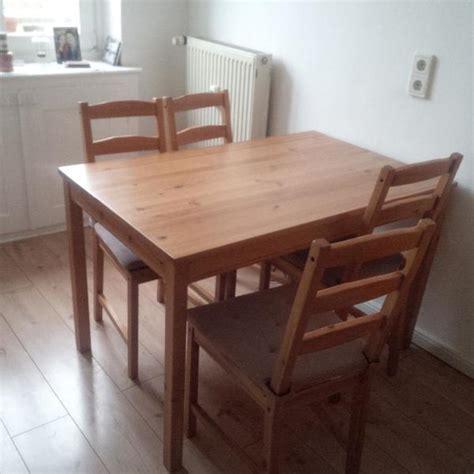 Ikea Esstisch Mit Stühlen by Ikea Esstisch Mit 4 St 252 Hlen Tolle Finede Tisch Und Stuhle