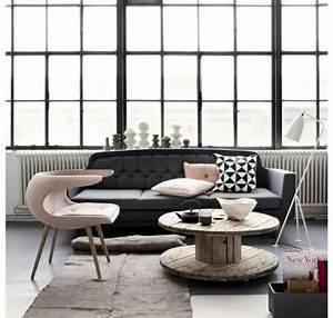 Wohnzimmer Grau Rosa : farbschema grau rosa interieur design ideen ~ Orissabook.com Haus und Dekorationen
