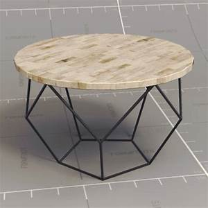origami coffee table 3d model formfonts 3d models textures With west elm geometric coffee table