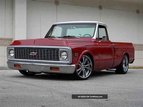 1972 Chevrolet C10 Pickup Custom Shortbed