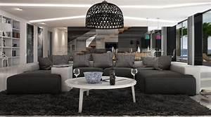 Wohnzimmer Couch U Form : couch u form modern ~ Bigdaddyawards.com Haus und Dekorationen