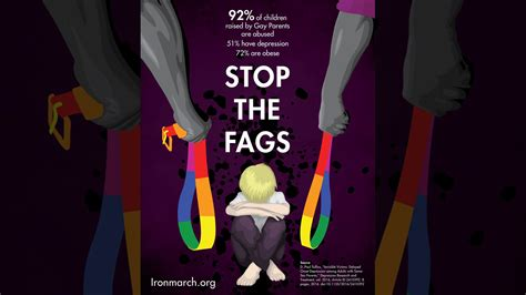 Stop The Fags Poster Appears In Melbourne The Week Uk