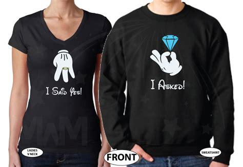 adorable engagement gift  women proposal shirts