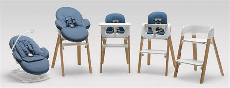 new stylish high chair by stokke nordicdesign