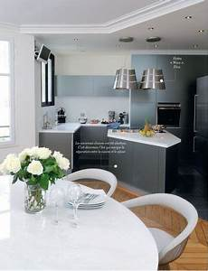 Un ilot sur mesure pour une petite cuisine ouverte cote for Optimiser une petite cuisine