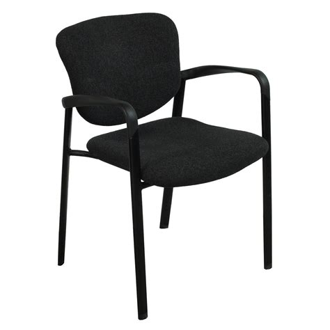 haworth improv used stackable side chair black national
