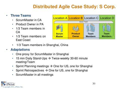 Agile Webinar Managing Distributed Teams