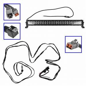 32quot cree led light bar with wiring kit jeep wrangler forum With led lamp wiring kit