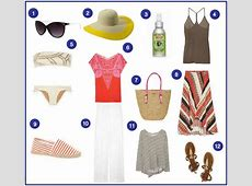 Packing For A Beach Vacation The Effortless Chic A
