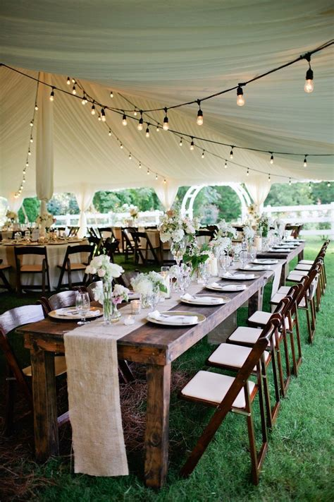 rustic tented historic cedarwood wedding dazzling decor