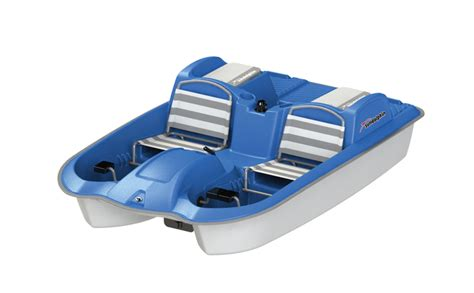 Sun Dolphin Paddle Boat by Sun Dolphin 5 Person Laguna Pedal Paddle Boat