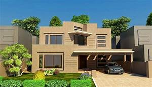 Solutions Modern House Front Elevation - MODERN HOUSE DESIGN