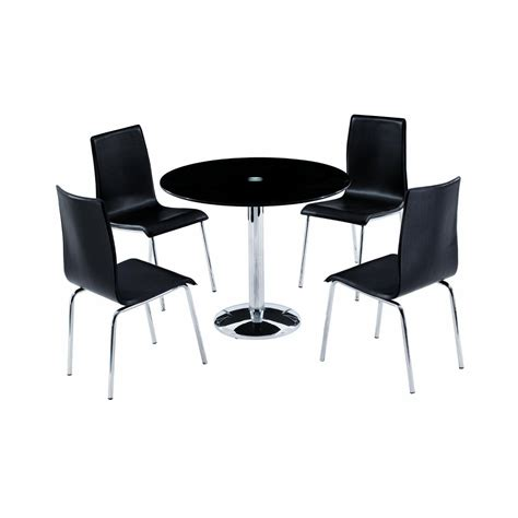 black round dining table and chairs round black dining table and chairs marceladick com