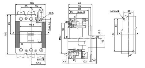 circuit breaker abb molded circuit breaker