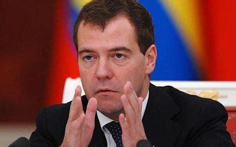 Russia President Dmitry Medvedev Condemns Stalin Telegraph