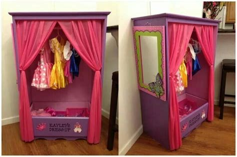 Dress Up Cupboard by Dress Up Cupboard Made Out Of An Dresser