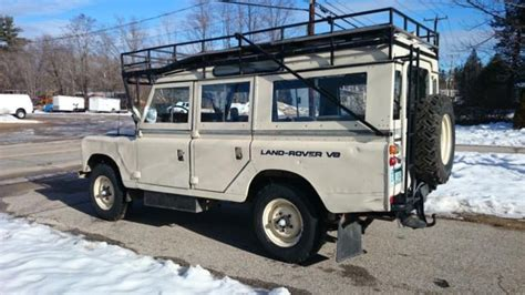 1981 expedition land rover series 3 109 v8 stage one classic land rover defender 1981 for sale