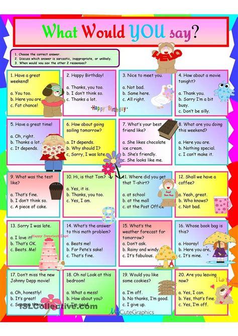 idioms     worksheet  esl printable