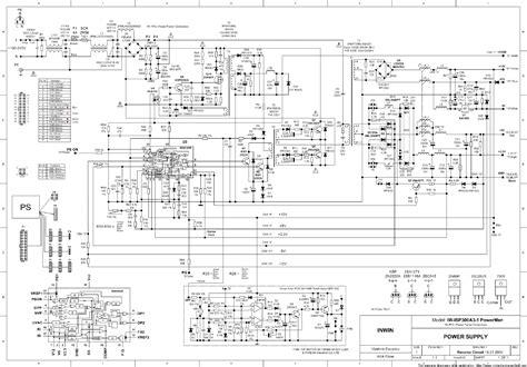 Inwin Ispax Power Supply Sch Service Manual