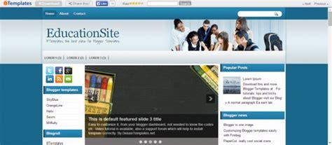 blogger templates  education sites