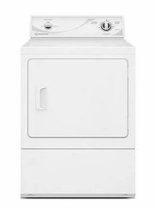 Speed Queen 7 Cu  Ft  White Electric Dryer