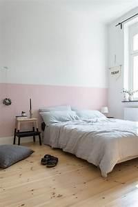Wie Verputze Ich Eine Wand : eine rosa wand f r das schlafzimmer neue bettw sche aus ~ Michelbontemps.com Haus und Dekorationen
